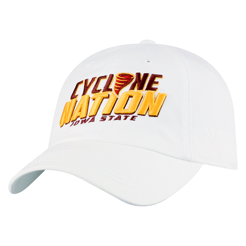 Image For Cyclone Nation New Logo Cap (White)
