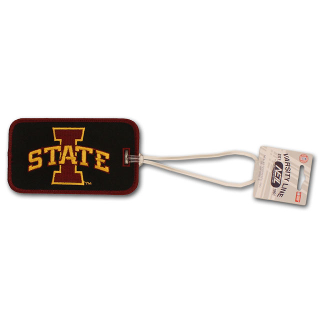 Image For Embroidered I-State Luggage Tag