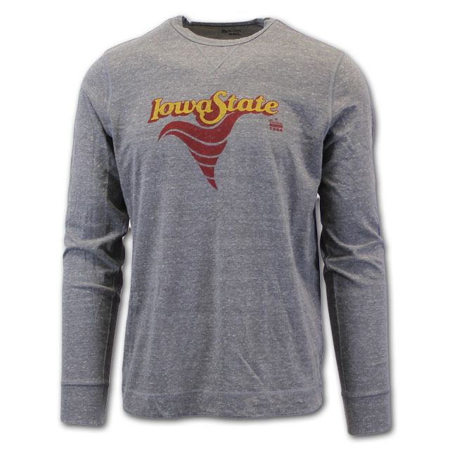 Image For Vintage Iowa State Cyclone Long Sleeve