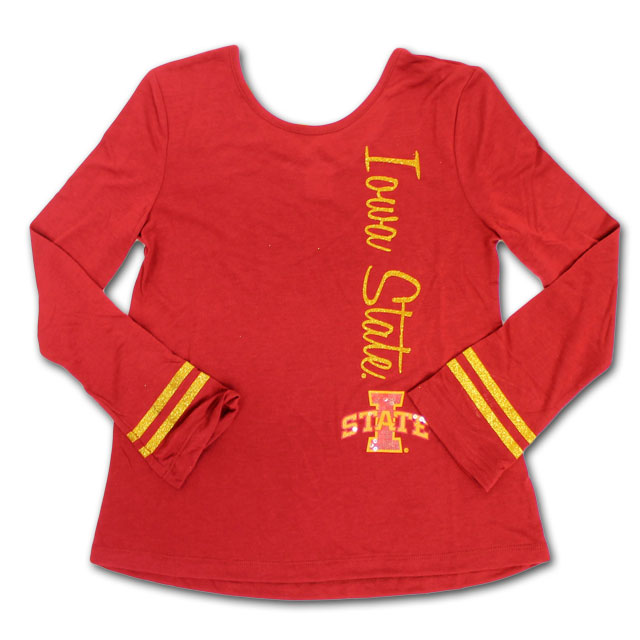 Image For Colosseum® Girl's Youth Iowa State Shirt* <i>WAS $28.00</i>