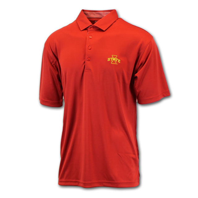 Image For Horn Legend® I-State Cardinal Polo*  <i>WAS $65.00</i>