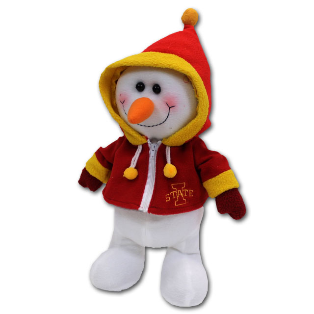 Image For Iowa State Happy Hoodie Snowman* <i>WAS $15.99</i>