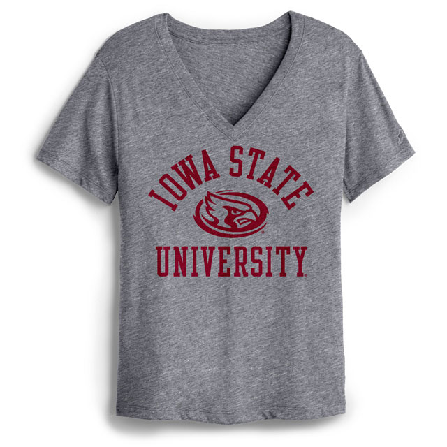 Image For Women's Iowa State V-Neck T-Shirt