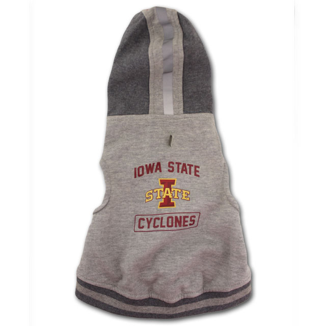 Image For Iowa State Pet Hoodie (Small)