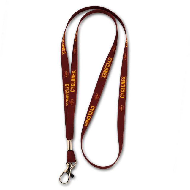 Image For Cyclones 3/8 Satin Lanyard