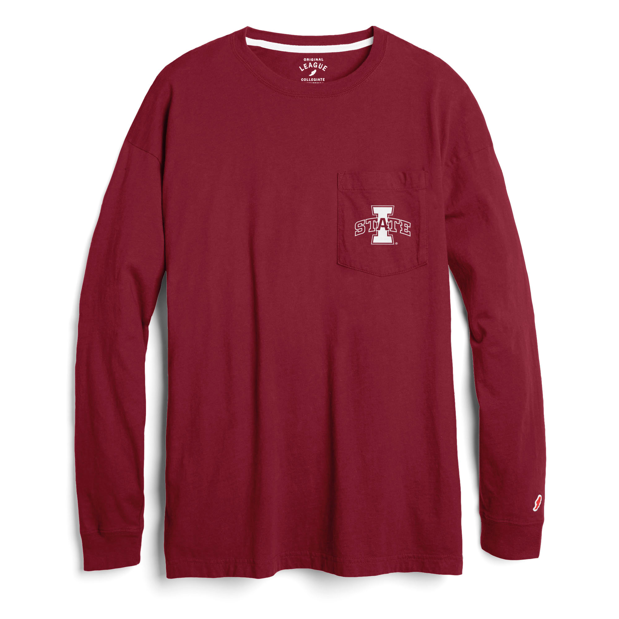 Image For Women's I-State Pocket Long Sleeve