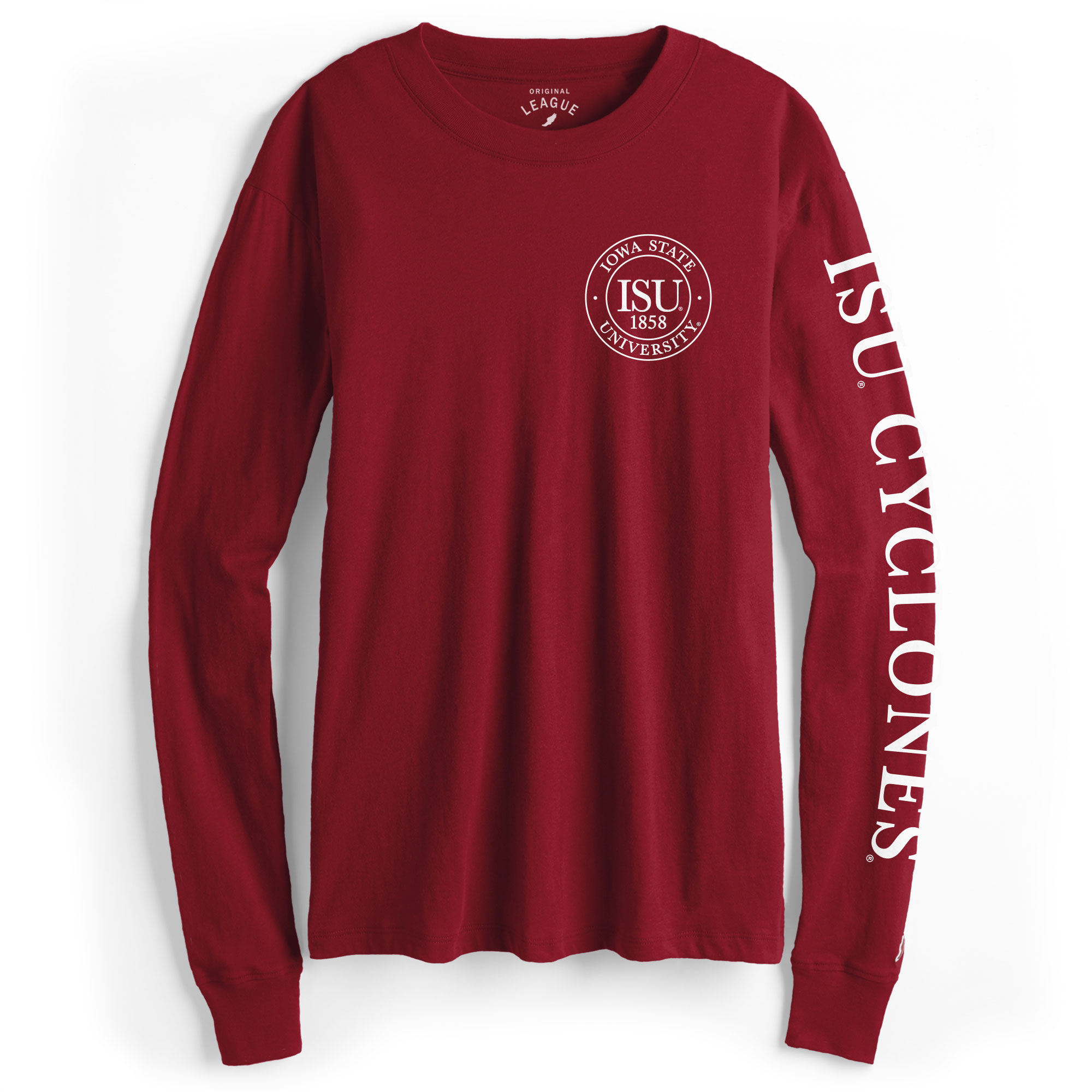 Image For Women's ISU Badge Long Sleeve