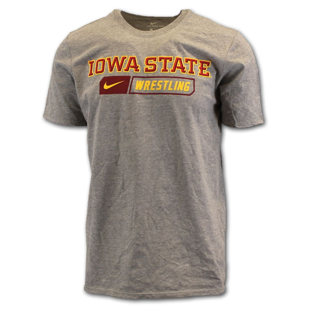 Image For Nike® Iowa State Wrestling T-Shirt