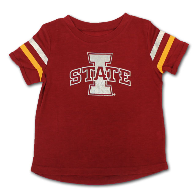 Image For Colosseum® Toddler Girl's I-State Metallic Shirt