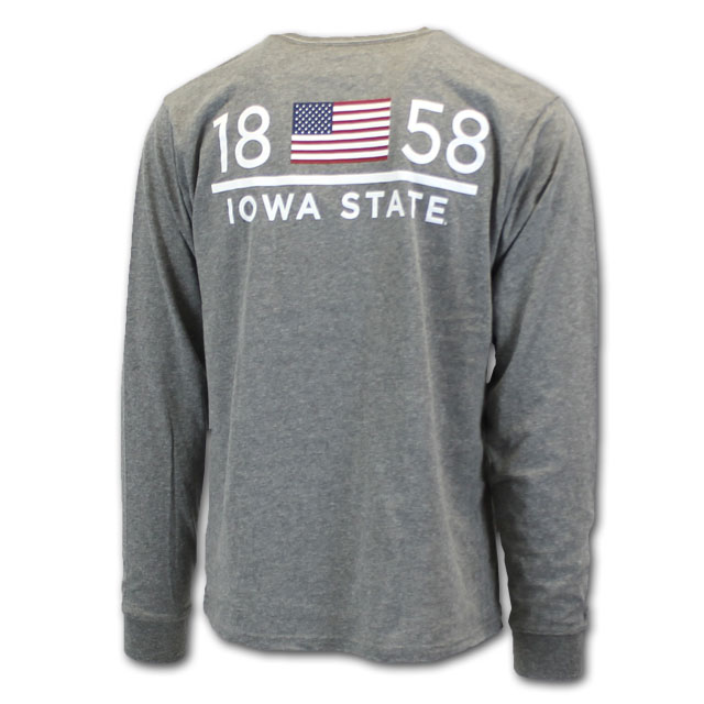 Image For League® 1858 Iowa State Pocket Tee