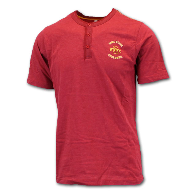 Image For Colosseum® Iowa State Henley T-Shirt*  <i>WAS $32.00</i>