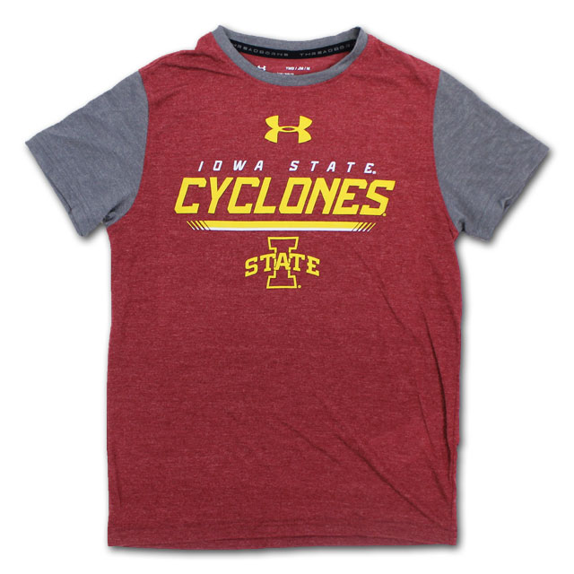 Image For UA® Youth Cyclones T-Shirt* <i>WAS $35.00</i>
