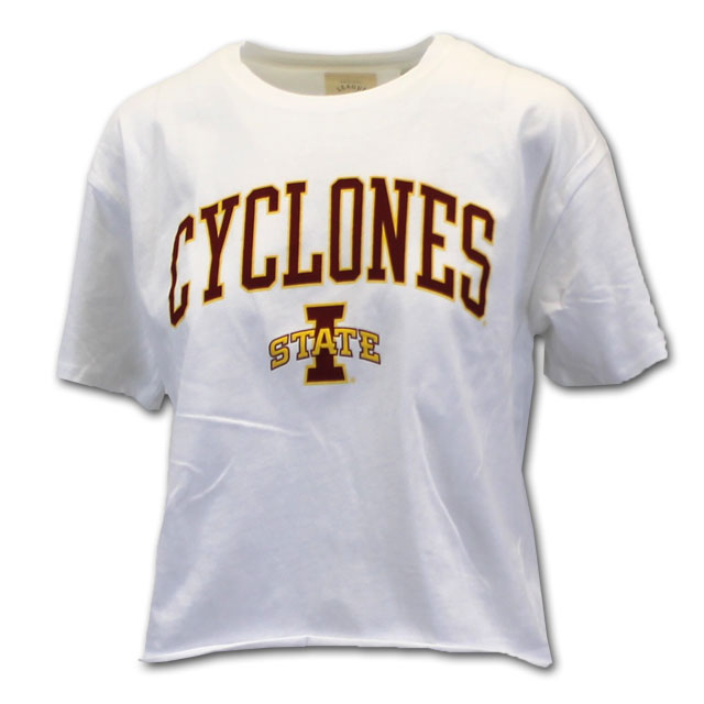 Image For League Cyclones Crop Top