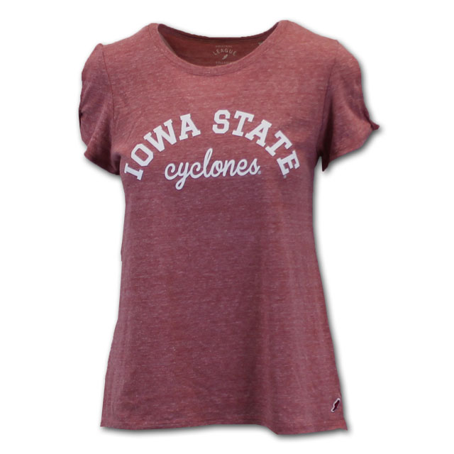 Image For League Women's Iowa State Cyclones Short Sleeve