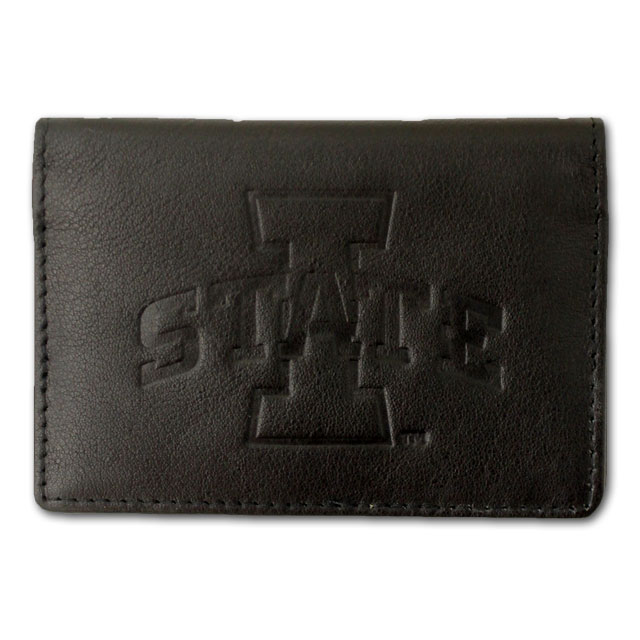 Image For Black Leather ID Wallet* <i>WAS $12.99</i>