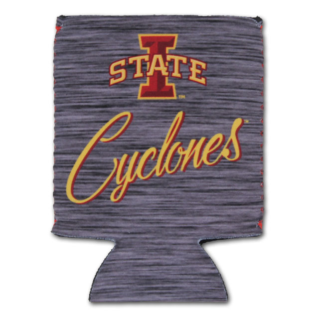 Image For Charcoal I-State Cyclones Koozie