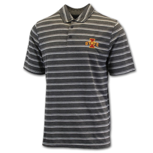 Image For Tribute® Charcoal I-State Polo* <i>WAS $50.00</i>