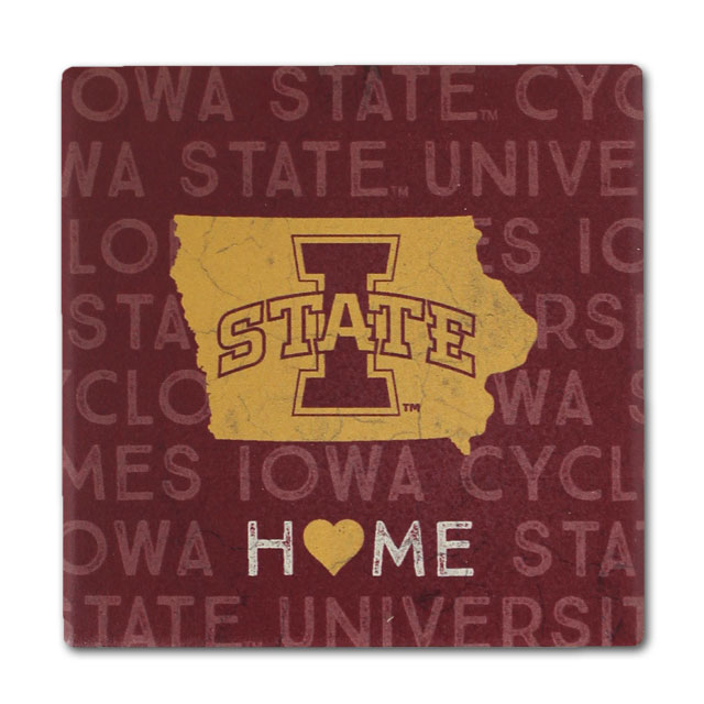 Image For Legacy® 4 Pack Iowa State Coaster Set