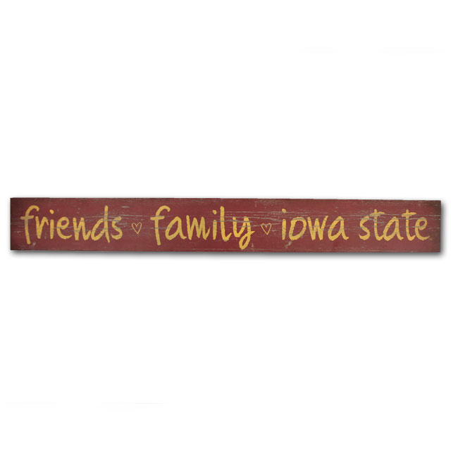 Image For Legacy® Friends Family Iowa State Plank