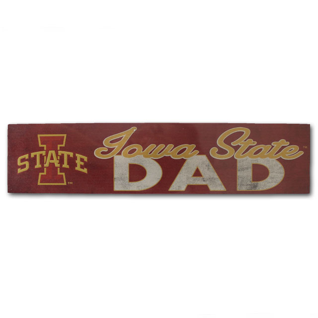 Image For Legacy Iowa State Dad Tabletop Sign