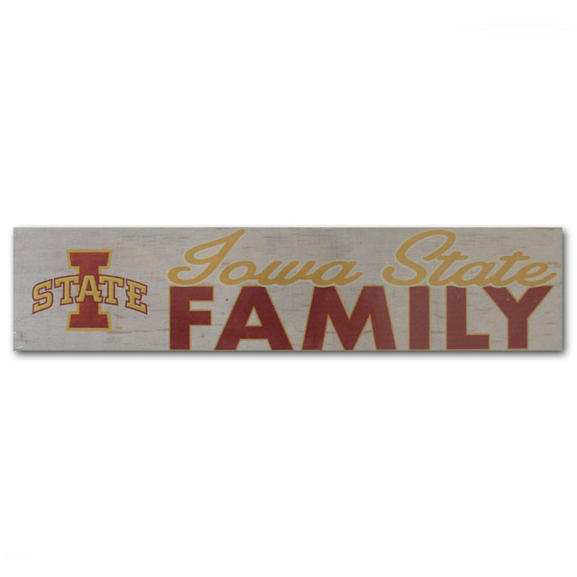 Image For Legacy Iowa State Family Tabletop Sign