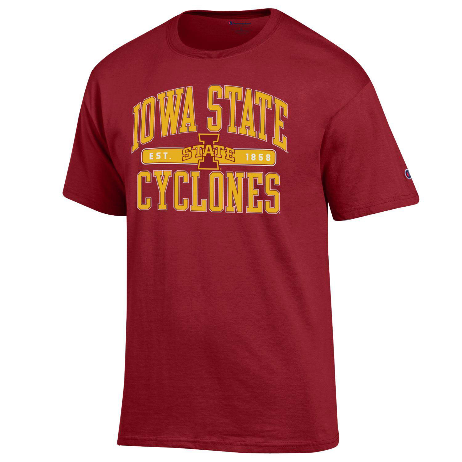 Image For Cardinal Short Sleeve I-State T-shirt