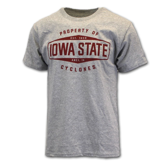 Image For Champion® Property Of Iowa State Cyclones T-Shirt