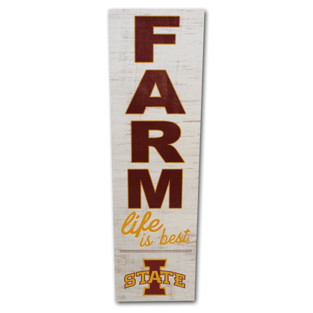Image For Farm Life Is Best I-State Sign