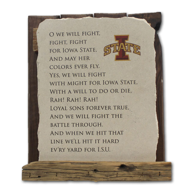 Image For Fight Song Stone Tablet