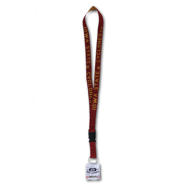Image For Iowa State Cyclones Woven Lanyard