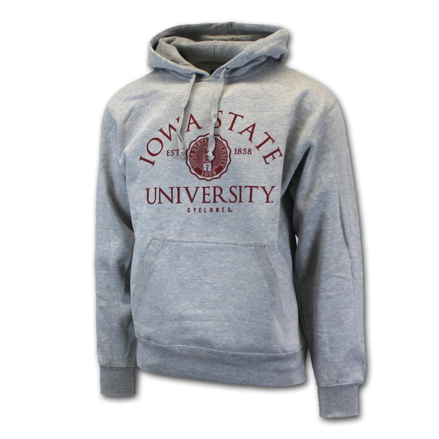 Image For Gear For Sports Iowa State University Seal Hooded Sweatshirt