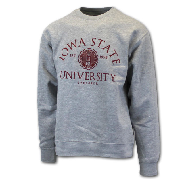 Image For Gear For Sports Iowa State University Seal Crew Neck