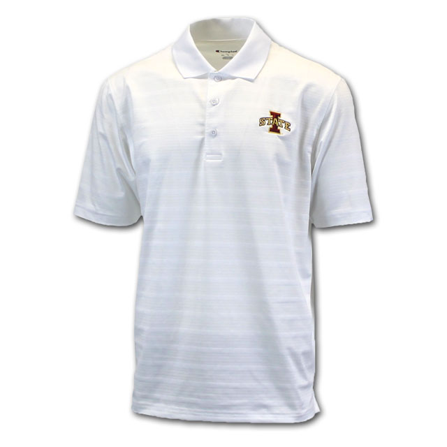 Image For Champion® I-State White Polo