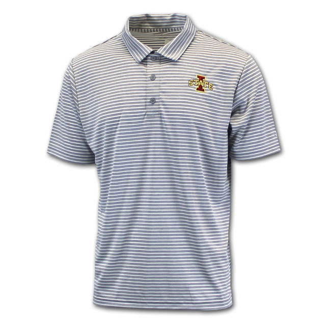 Image For Champion® I-State Stripe Polo