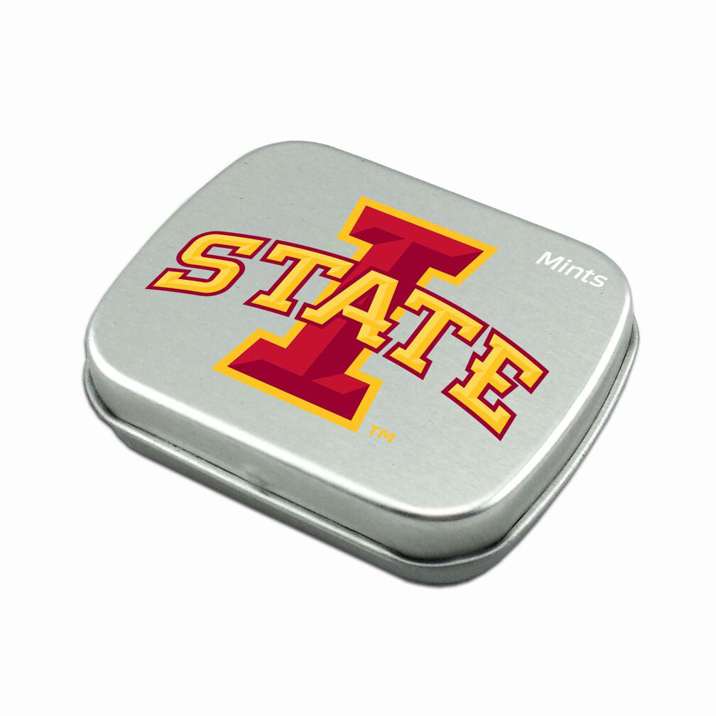 Image For I-State Peppermint Breath Mints Tin