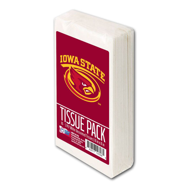 Image For Iowa State Tissue Pack