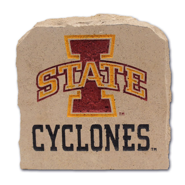 Image For I-State Cyclones Stone 11X11