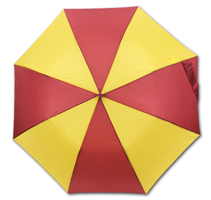 Image For Cardinal & Gold Sporty Umbrella