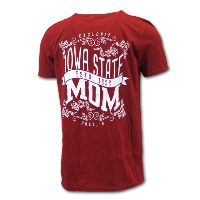 Image For Cardinal I-State Mom T-Shirt