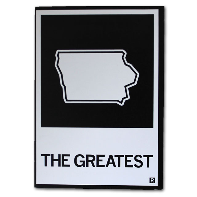 Image For Raygun The Greatest - Iowa Postcard *WAS $1.99