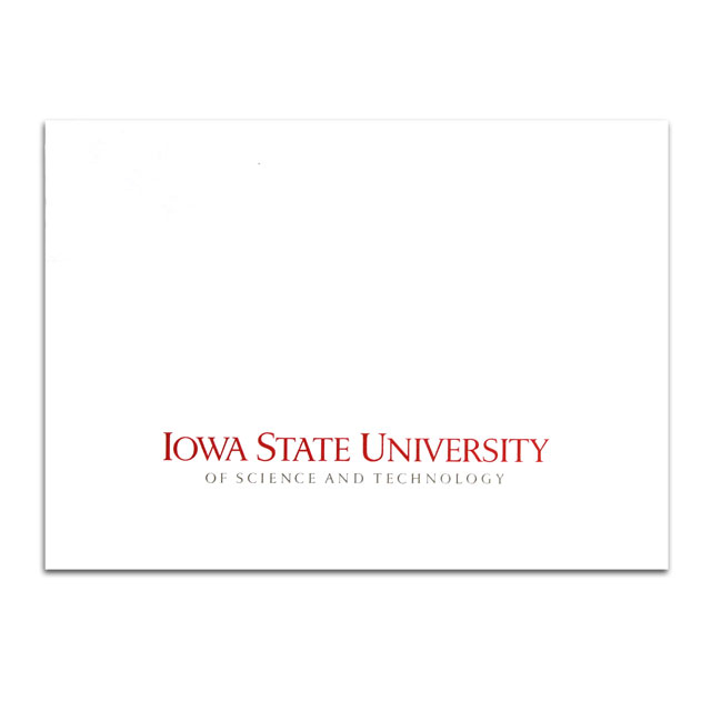 Image For Blank ISU Notecard and Envelope Set