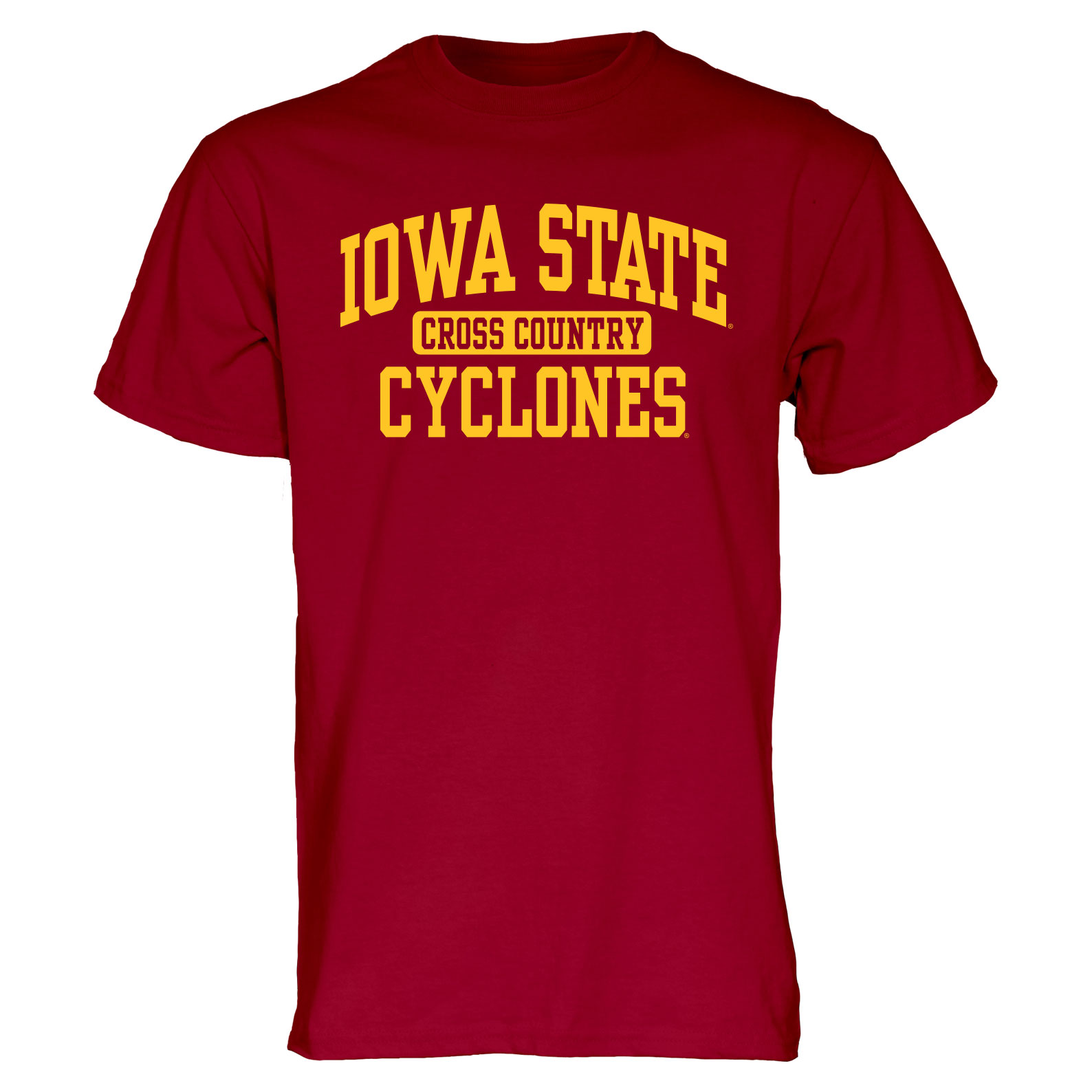 Image For Cardinal Iowa State Sport T-Shirt (Cross Country)