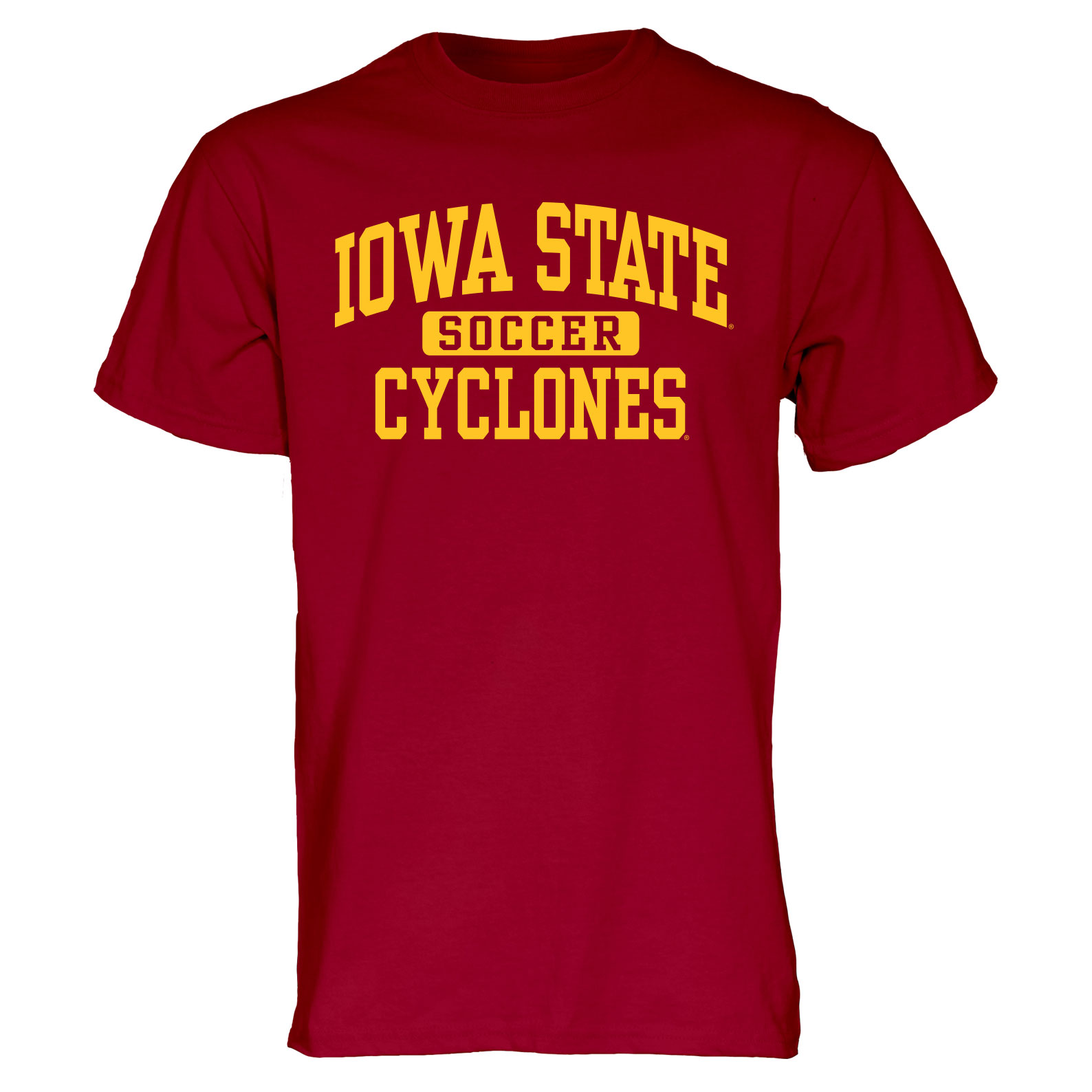 Image For Cardinal Iowa State Sport T-Shirt (Soccer)