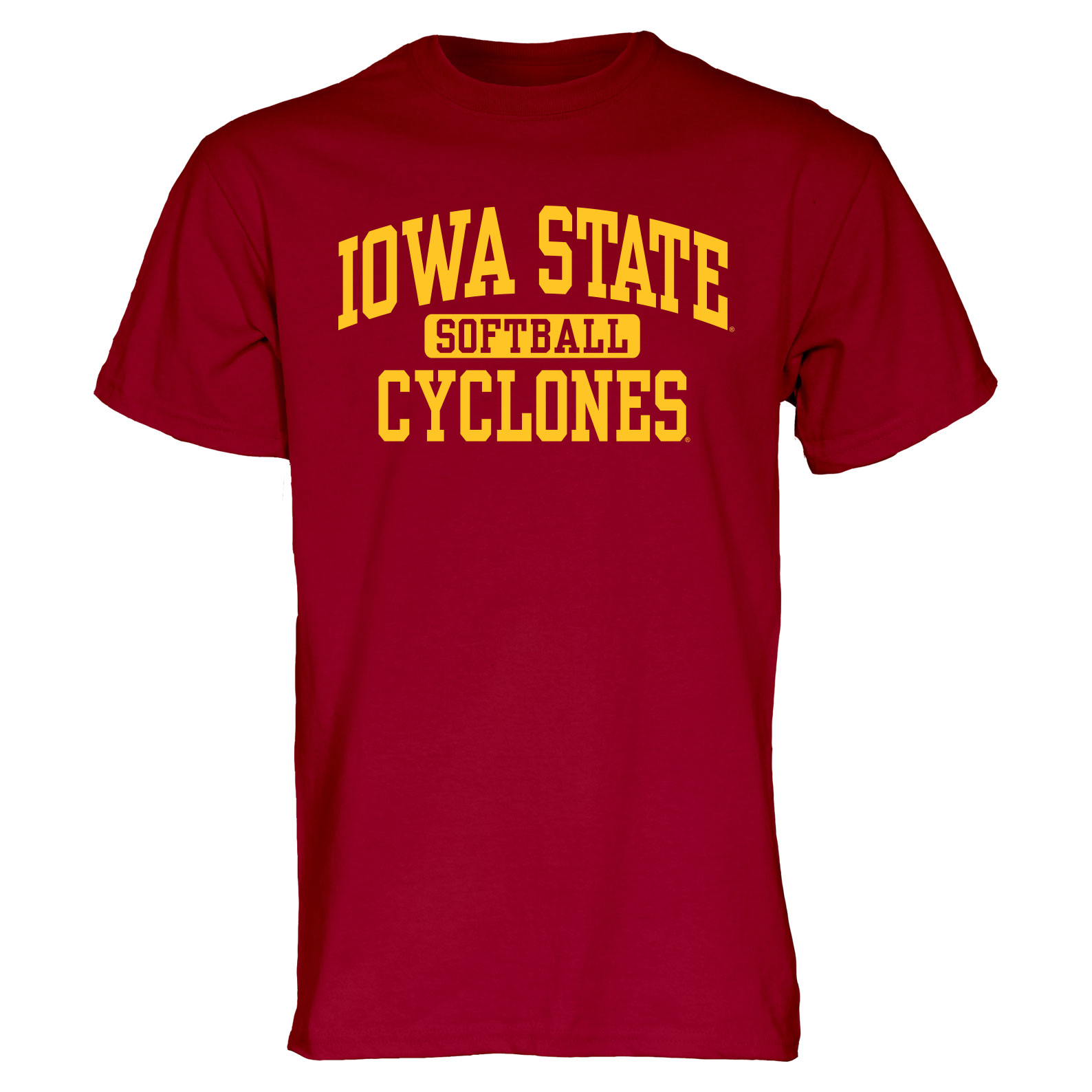Image For Cardinal Iowa State Sport T-Shirt (Softball)
