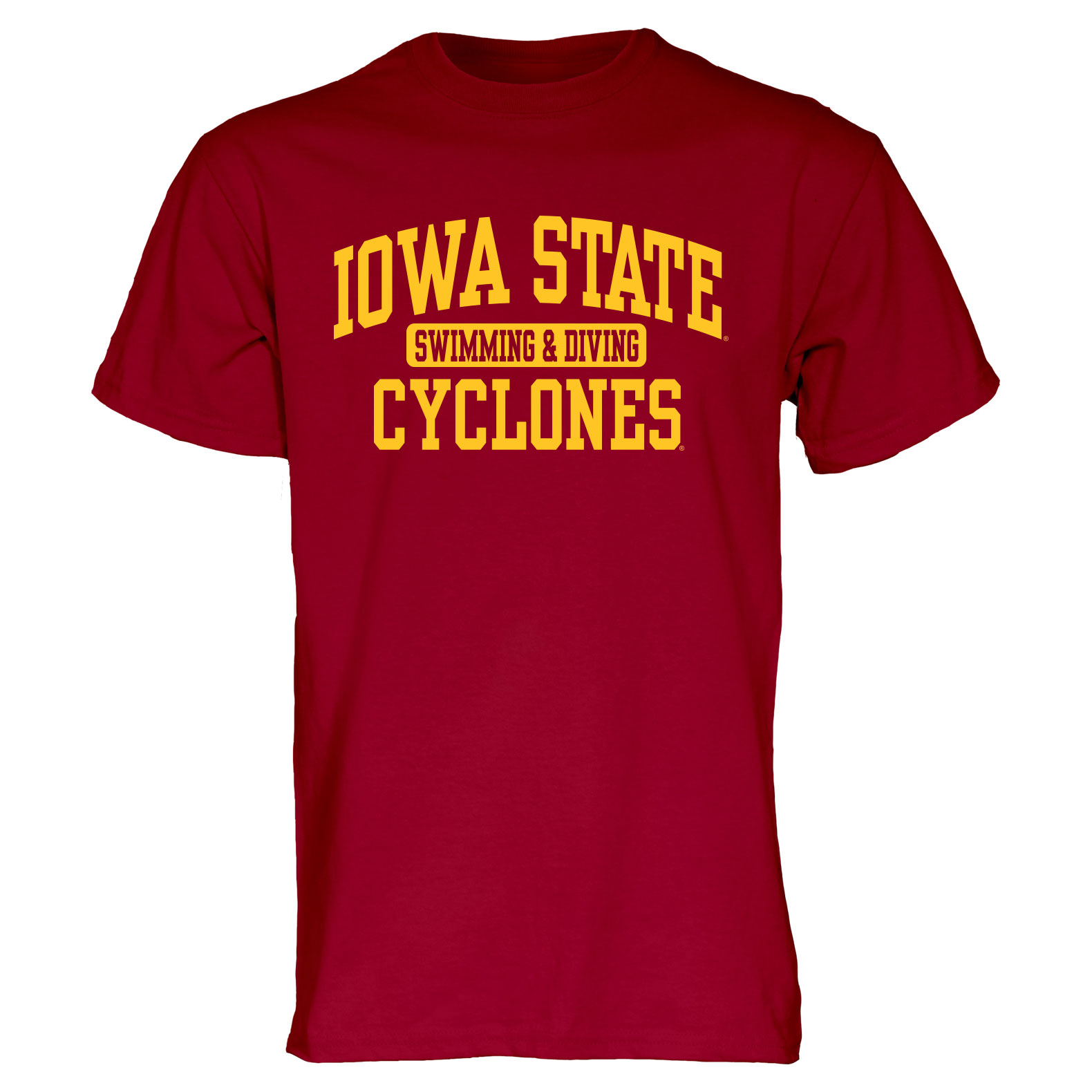 Image For Cardinal Iowa State Sport T-Shirt (Swimming and Diving)