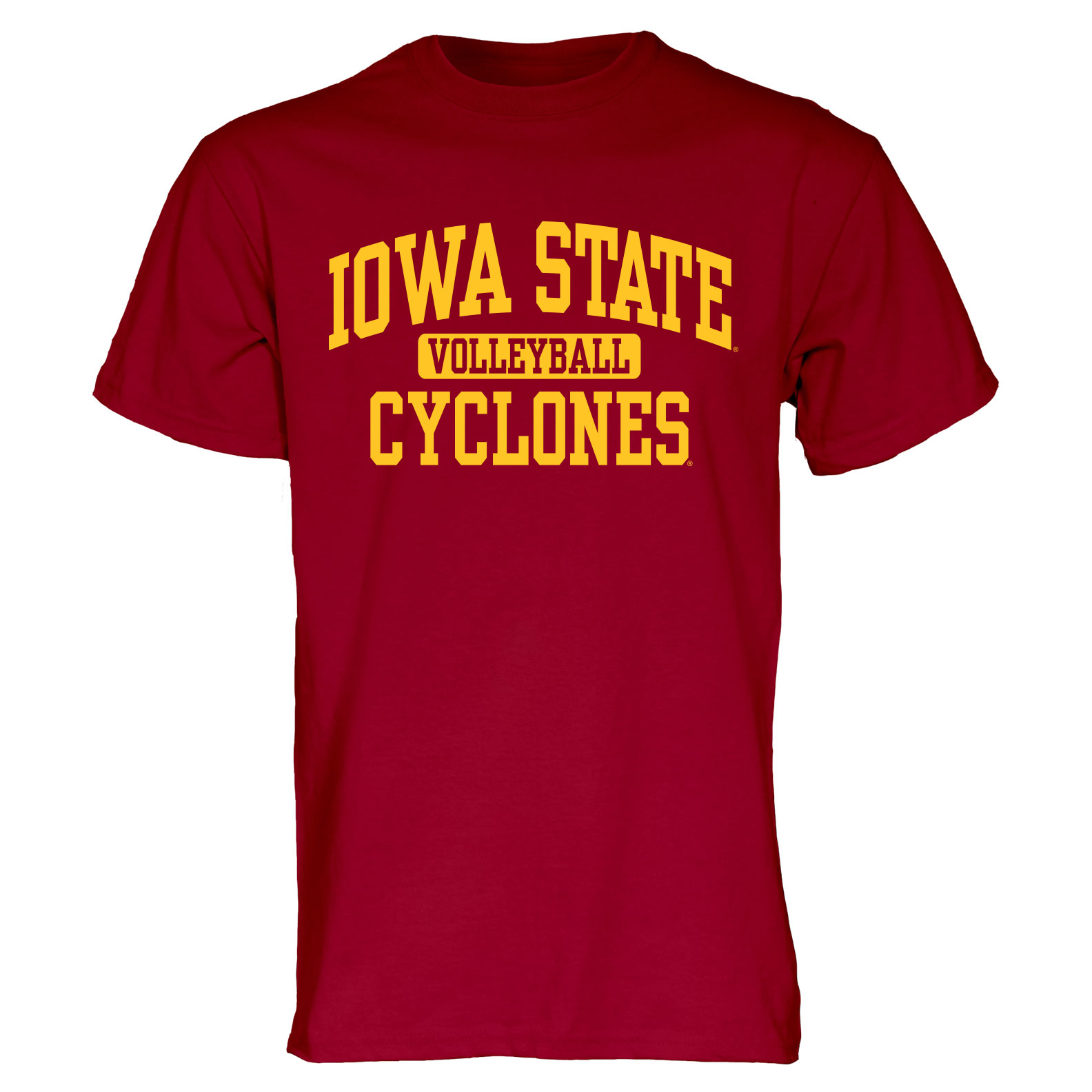 Image For Cardinal Iowa State Sport T-Shirt (Volleyball)