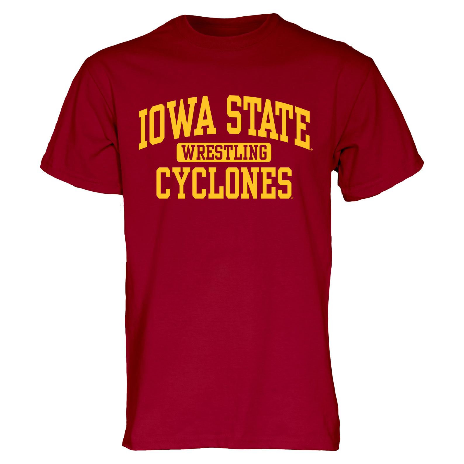 Image For Cardinal Iowa State Sport T-Shirt (Wrestling)