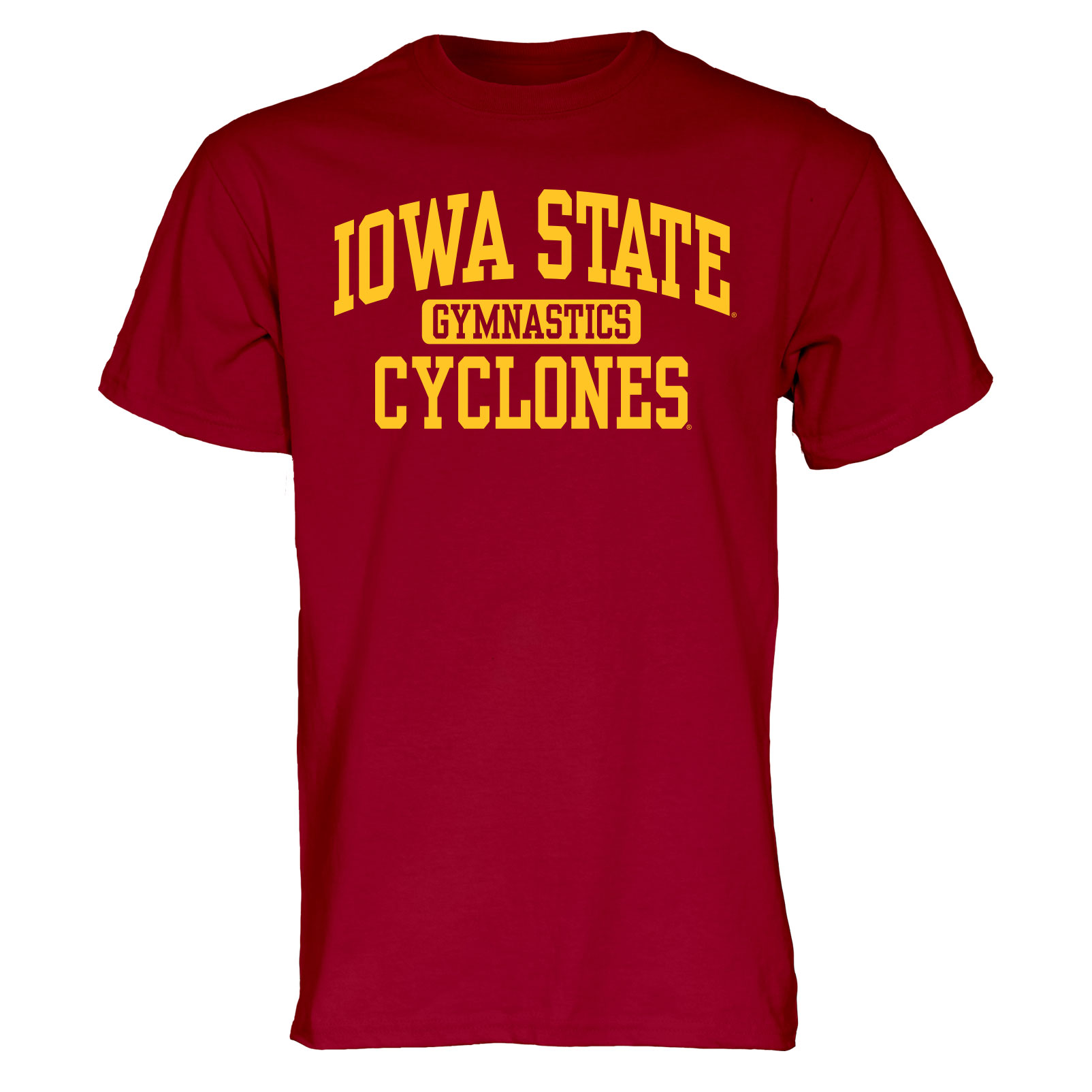 Image For Cardinal Iowa State Sport T-Shirt (Gymnastics)