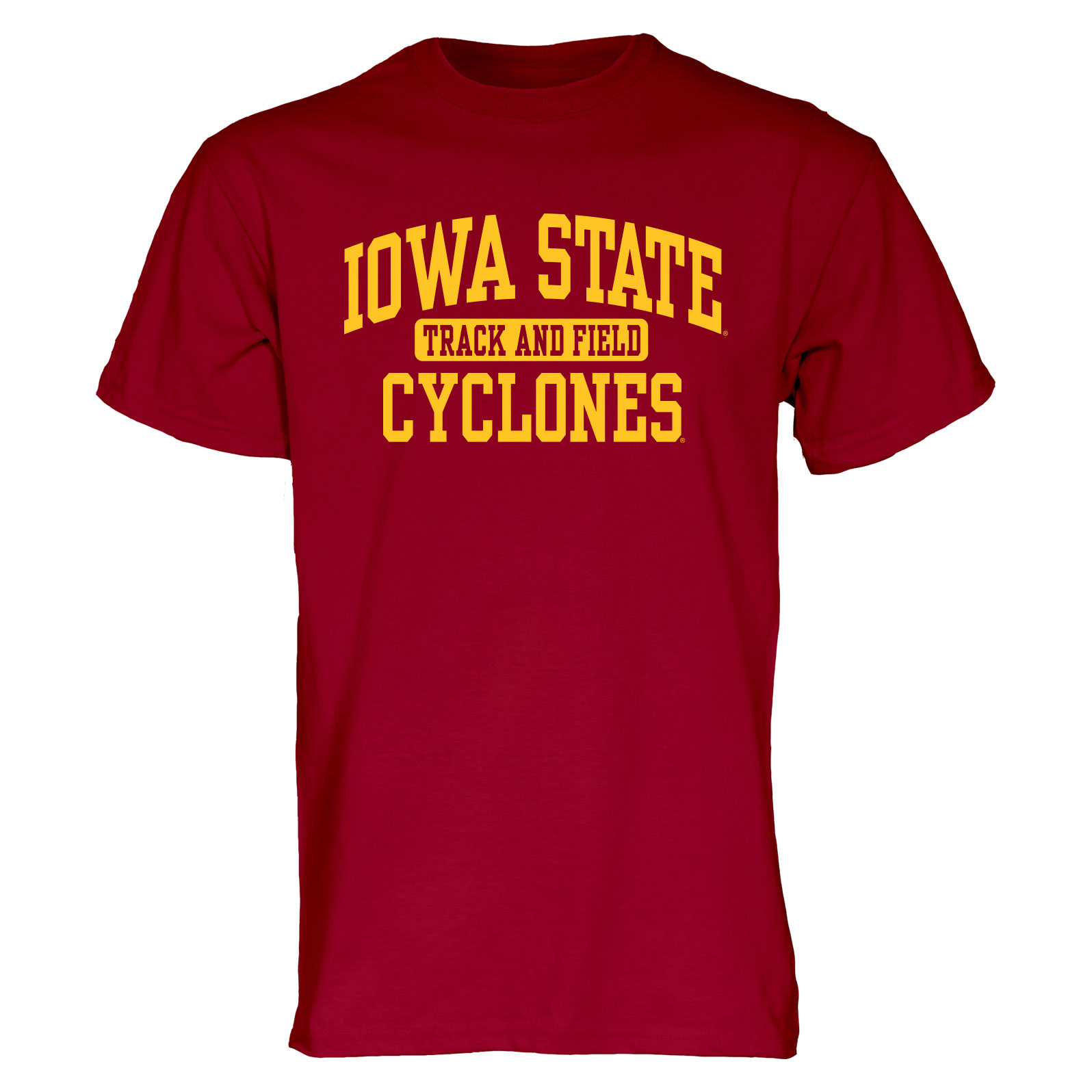 Image For Cardinal Iowa State Sport T-Shirt (Track and Field)