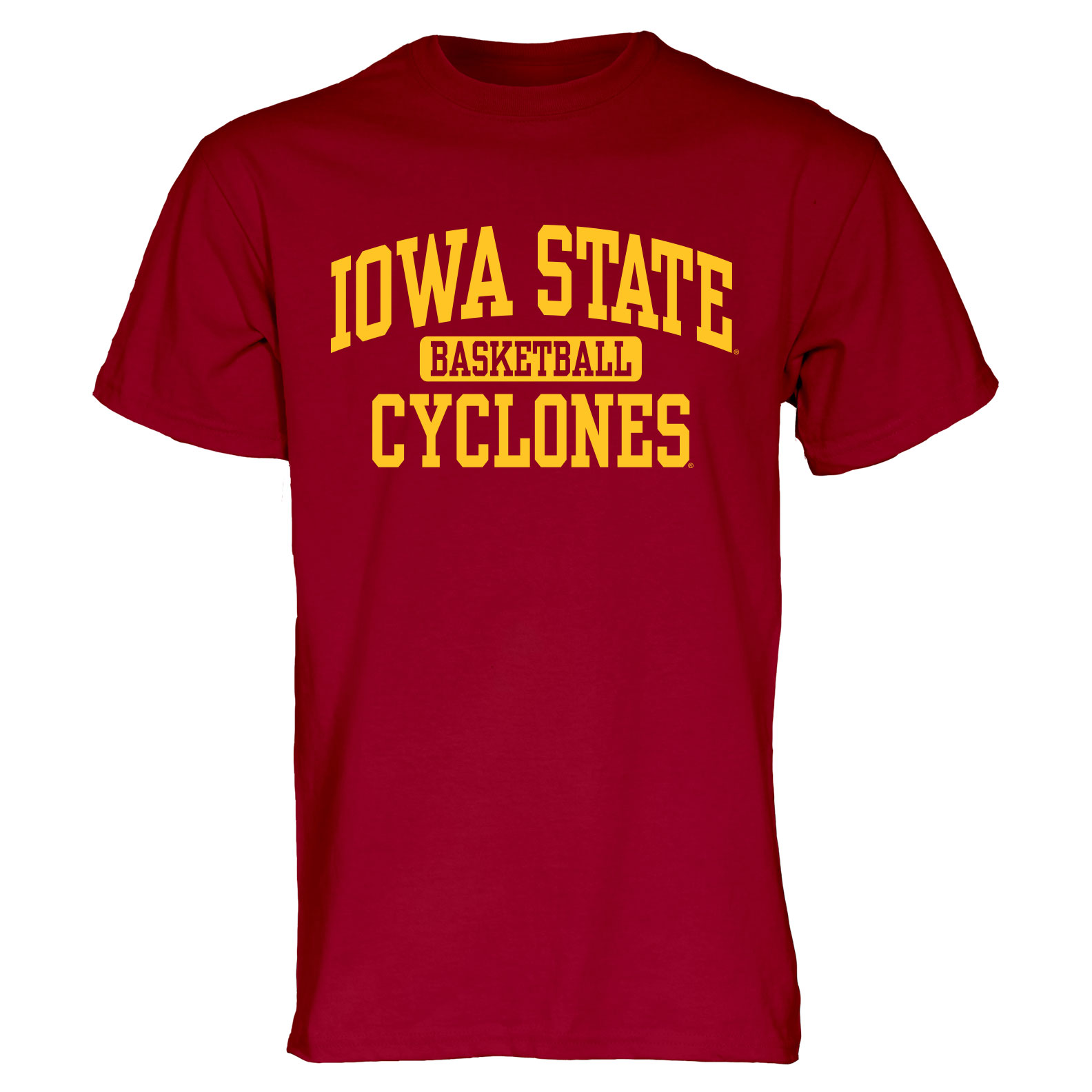 Image For Cardinal Iowa State Sport T-Shirt (Basketball)